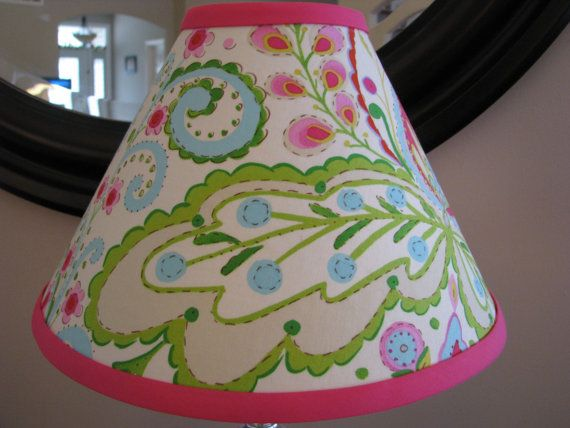 Kumari Garden Teja Pink Lamp shade by Zacharydickorydock on Etsy