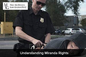 Understanding Miranda Rights. If you need help with a criminal charge, contact our attorneys right away.