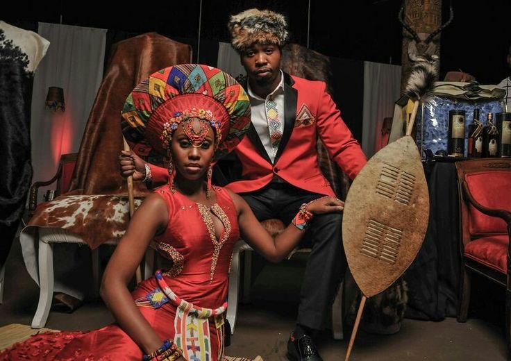 South african Zulu traditional Wedding