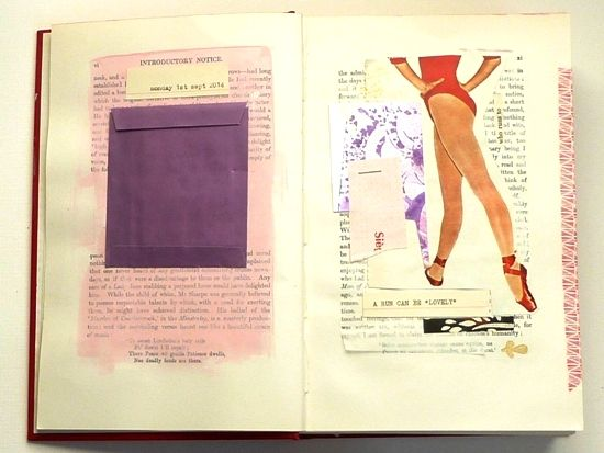 Variations on a *theme*: introducing a focus to your collage adventure. 'Fortune & Geese Favour the Bold' Part 2 by Julie Kirk. Exploring how a theme/colour-scheme can guide a creative project.