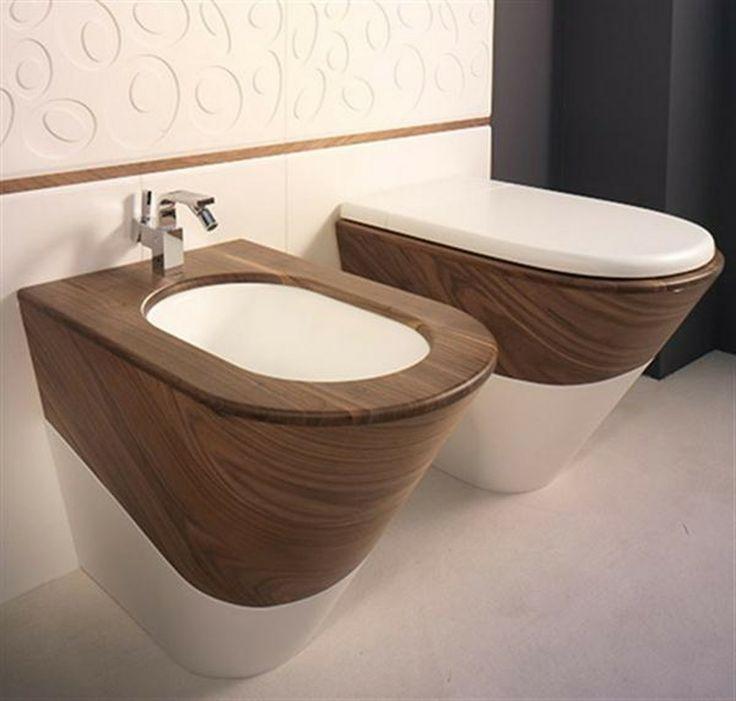 Wooden Toilet Design