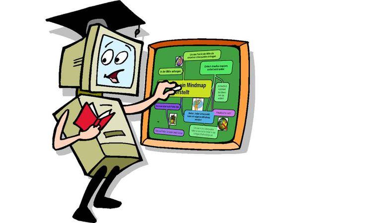 """Mindmaps  – Die Wundertechnik.  Das Mindmap, eine """"Ideenlandkarte"""" spricht beide Gehirnhälften gleichzeitig an.  Man nehme ein großes weißes Blatt Papier im Querformat und wer mag, jede Menge bunte Stifte."""