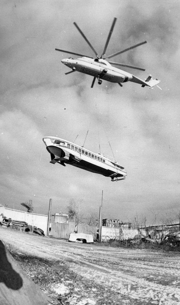 «Ракета», «Метеор», «Восход» — легендарные суда на подводных крыльях, их прошлое и настоящее