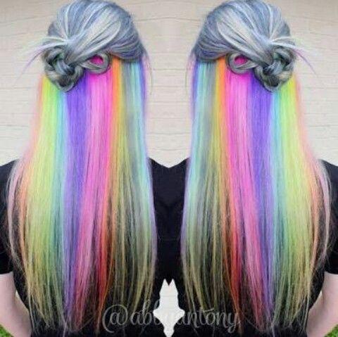 Cabelo Arco íris