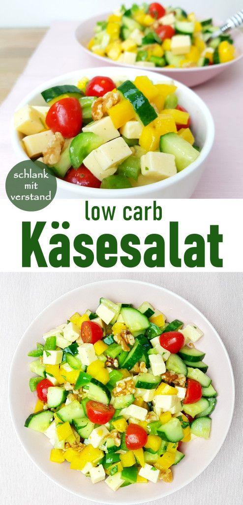 Käsesalat kohlenhydratarm   – Low Carb Rezepte schlankmitverstand.com