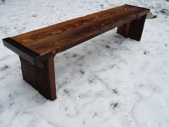 99 Best Rough Lumber Benches And Tables Images On Pinterest