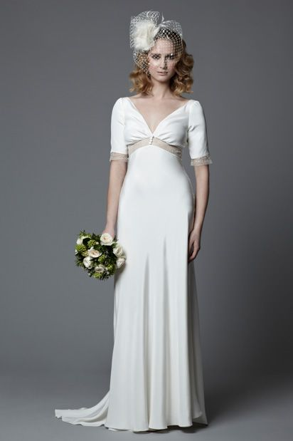 Best 25+ 1940s wedding dresses ideas on Pinterest | Bateau wedding ...