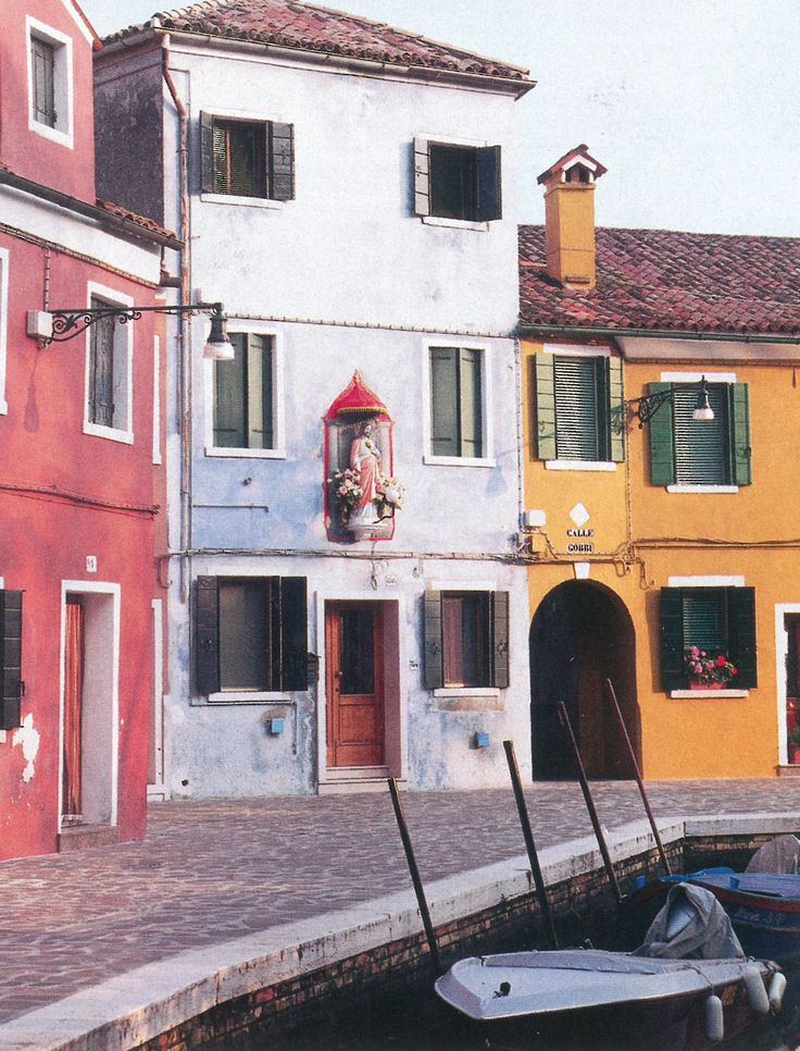 town of Burano - home of Burano lace