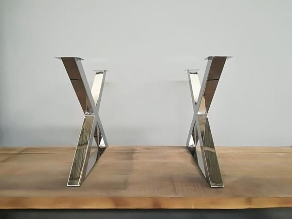 28 X Frame Table Legs Base Width Height 26 To 32