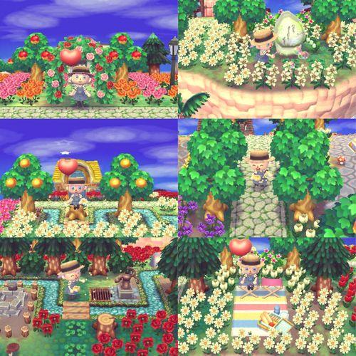 Animal Crossing New Leaf Town Decoration Ideas
