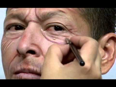 OLD AGE MAKEUP ICL IMAGEN FACIAL - YouTube