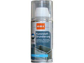 OBI Kunststoff-Grundierung Spray Transparent matt 150 ml