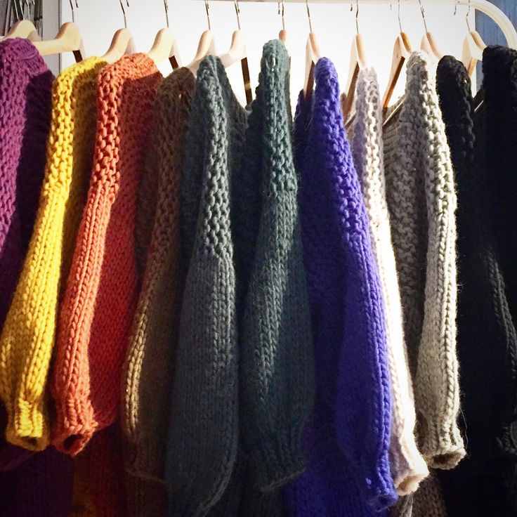 Colors cardigans collection: rainbow 🌈