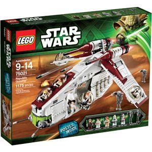 LEGO Star Wars Republic Gunship ~ available from Walmart and eligible for up to 7% cash back through the Dubli portal.. http://www.dubli.com/T0US16VR4