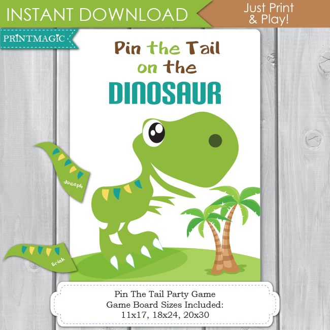 25+ Best Ideas About Dinosaur Party Games On Pinterest