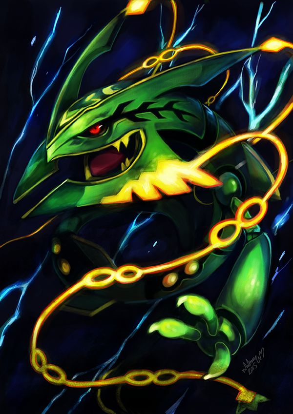 Rayquaza a collection of ideas to try about geek pokemon pokemon trainers and posts - Pokemon rayquaza mega evolution ...