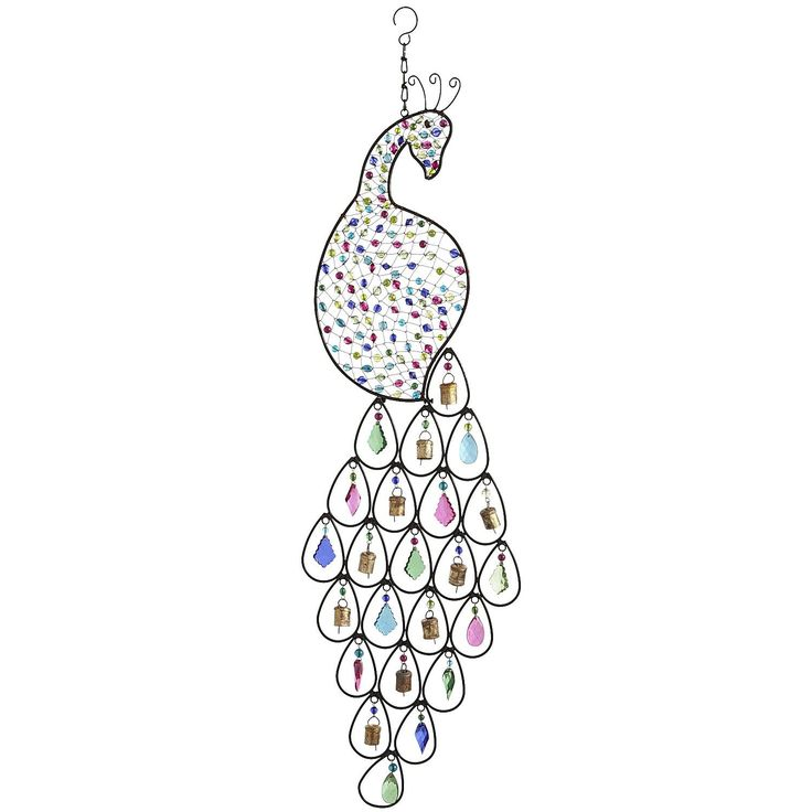 58 best images about peacock wind chimes on pinterest