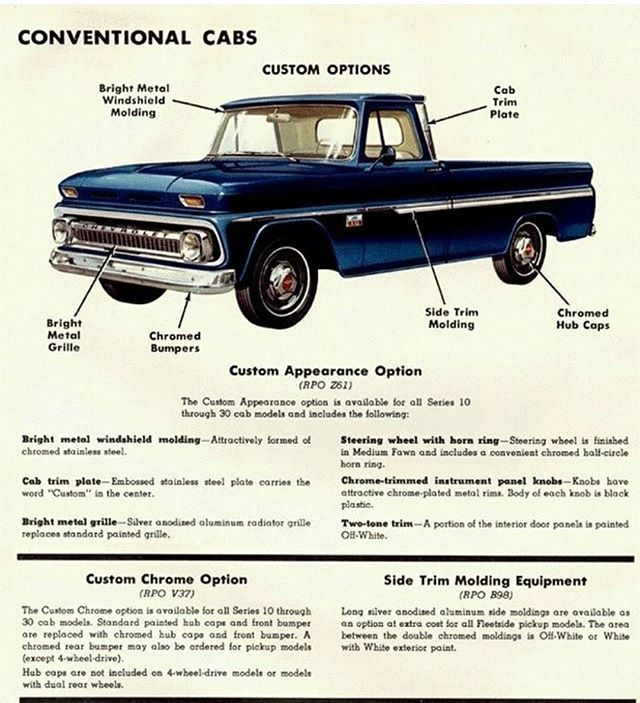 HERE'S A OLD C/10 AD...