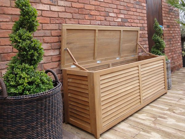 Garden Furniture With Storage 31 best outdoor storage ideas images on pinterest | storage ideas