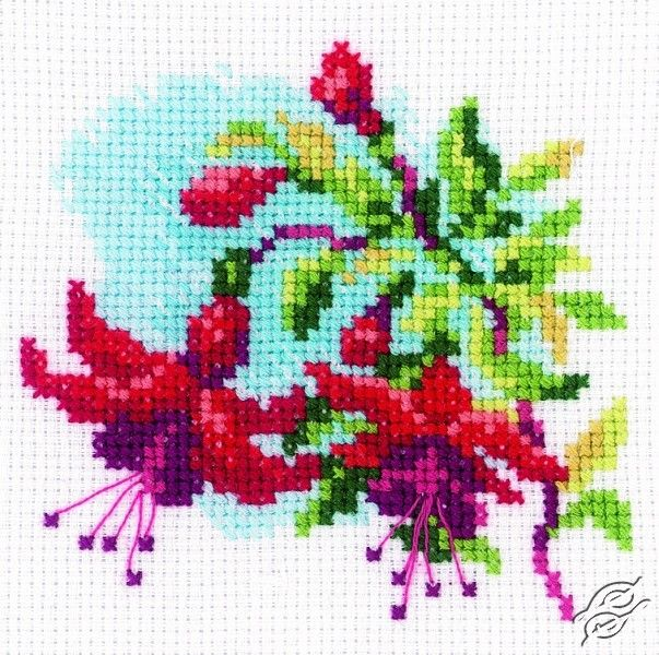 Fuchsia I - Cross Stitch Kits by RTO - H174