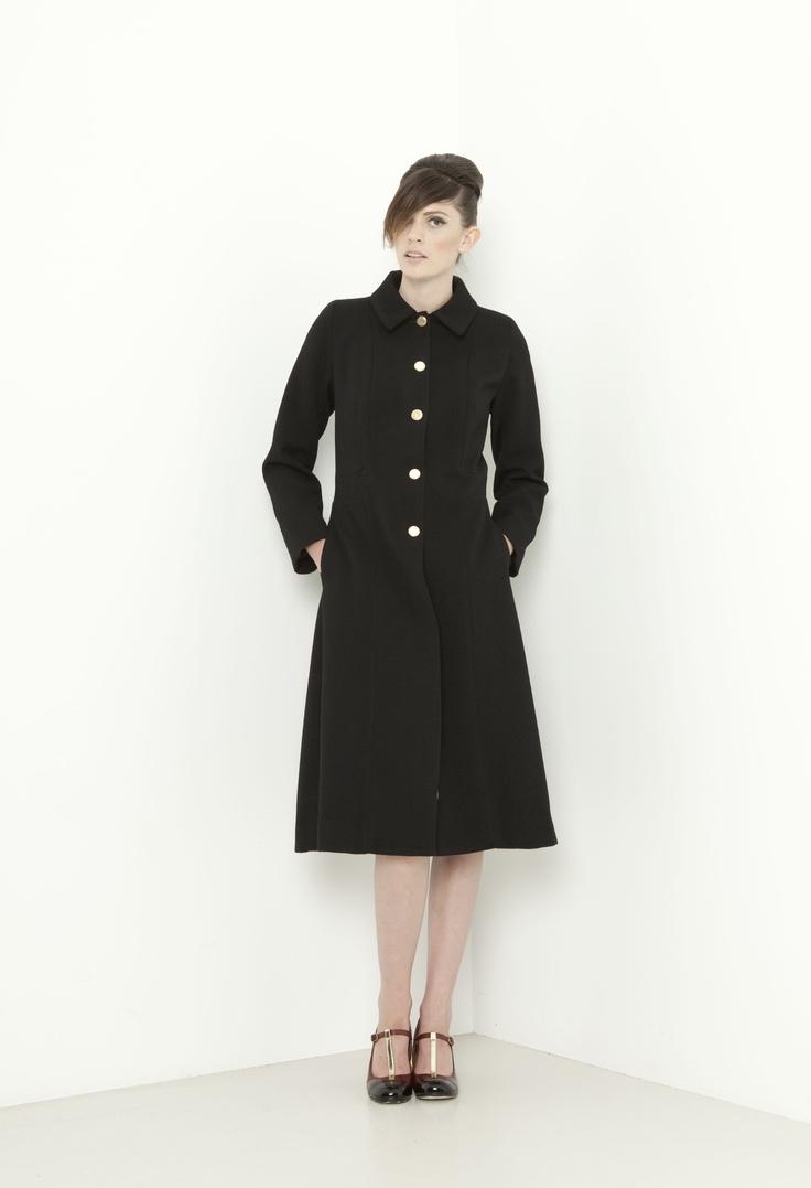 Liverpool Coat - black