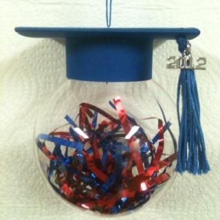 Senior 2012 ornament I made for Tyler