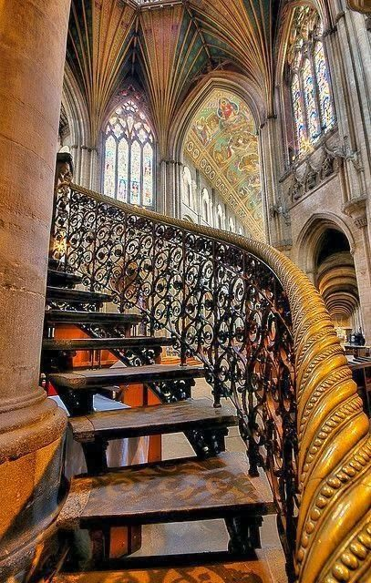 Ely Cathedral - England    so incredible and probably most of it done by hand...***