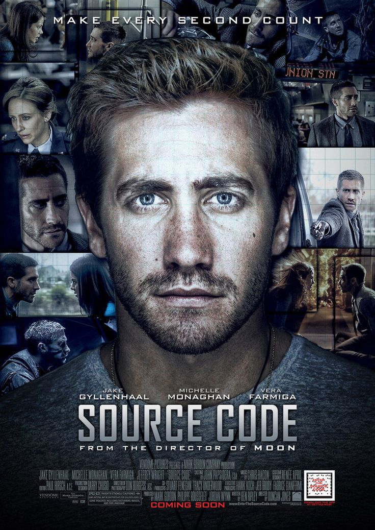 SOURCE CODE (2011) – stars: Jake Gyllenhaal  - U.S. Army pilot Colter Stevens…