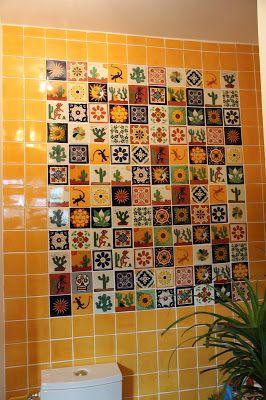Les 25 meilleures id es de la cat gorie carrelage mexicain for Retirer du carrelage mural