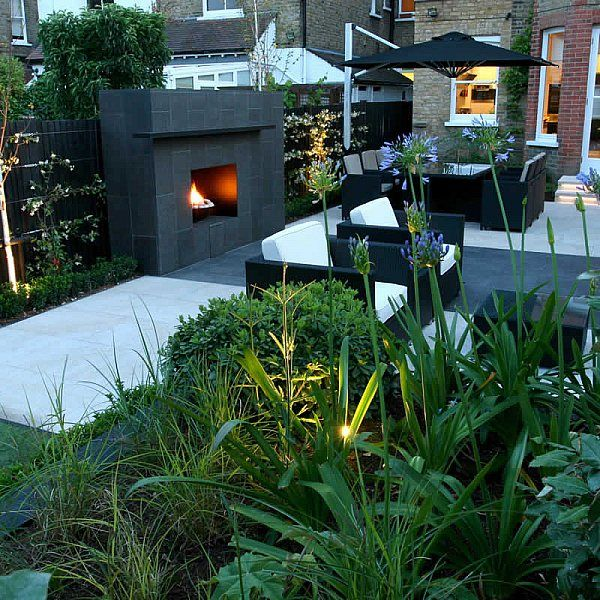 family garden barnes receives highly commended at garden design award with declan buckley in london