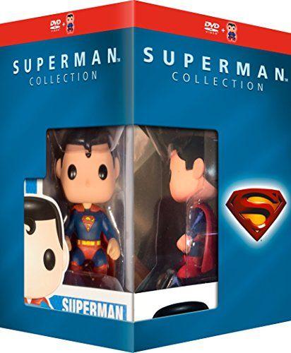Superman Collection - 5-DVD Box Set & Superman Figurine ( Superman / Superman II / Superman III / Su @ niftywarehouse.com #NiftyWarehouse #Superman #DC #Comics #ComicBooks