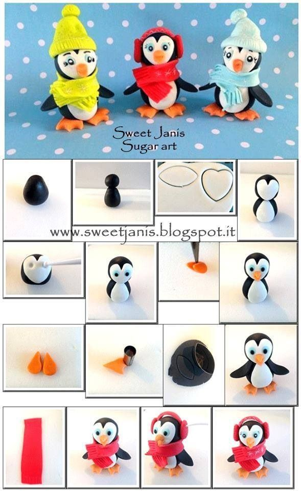 How To Make A Penguin Cake Decoration