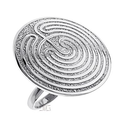 "Ring ""Minoan Labyrinth"""