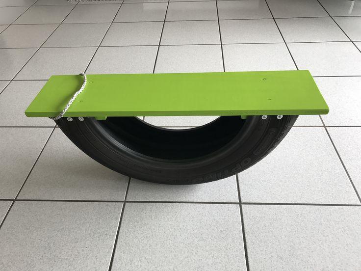 Bim-bam avec un pneu
