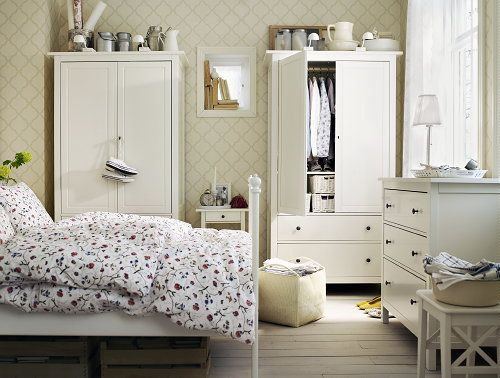 Ikea Bedroom Trends U2013 Brusali Ikea Bed And Bed Linen, Scandinavian White # Ikea # Part 85