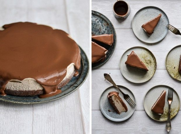 Chocolate & Banana Split Ice Cream Pie - A tasty love story