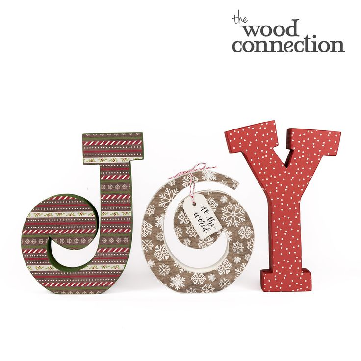 Joy Small Letter Set - The Wood Connection