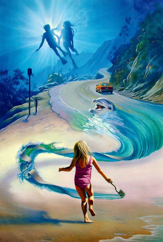 Young Artist | Surreal art, Fine art, Fantasy art