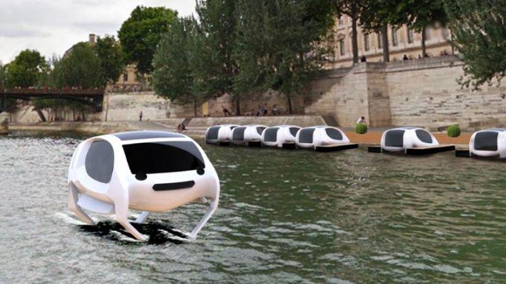 Des bateaux-taxis originaux ont été testés sur la Seine : les Sea Bubbles. Ils pourraient bientôt faciliter les trajets des Parisiens.