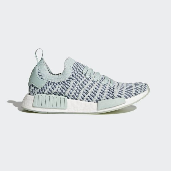 Shop the NMD_R1 STLT Primeknit Shoes Green at