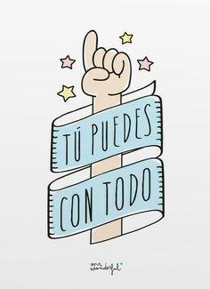 Porque t puedes con todo, no te rindas nunca! #frases http://www.gorditosenlucha.com/                                                                                                                                                                                 Más