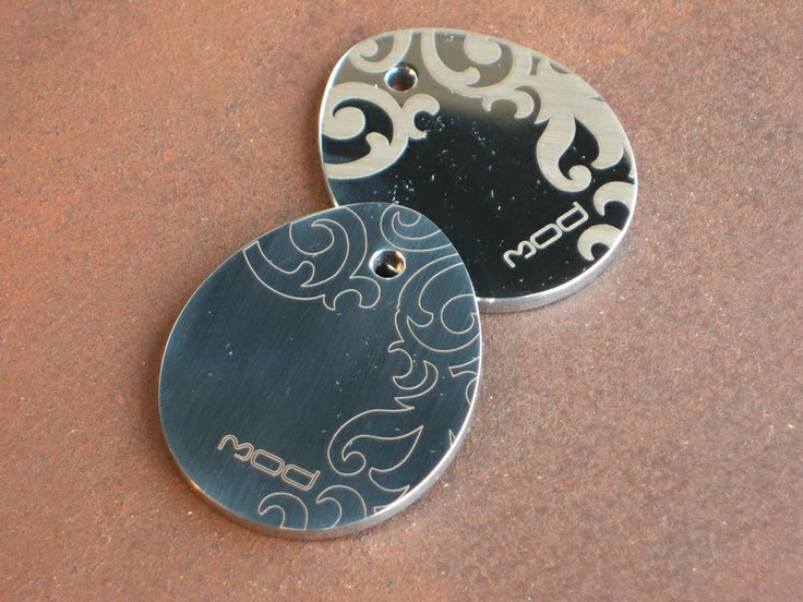 keychains - laser cutting stainless steel - coolstoodio