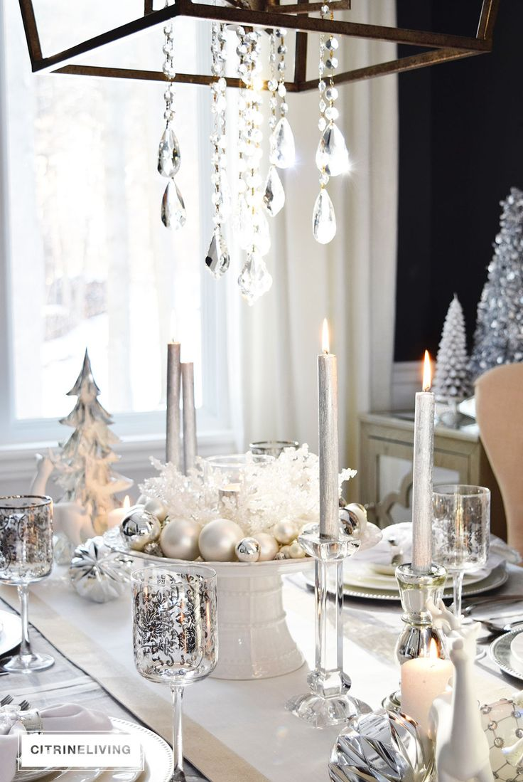 38 best Christmas Tables tablescapebloghop images on