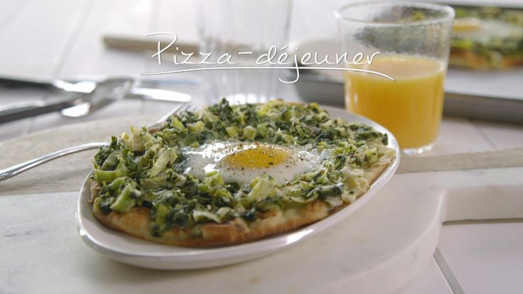 Pizza-déjeuner