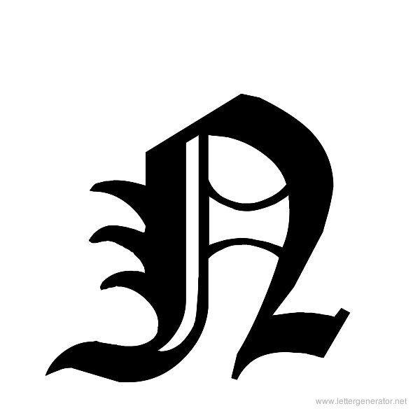 Cloister Black Font Alphabet N Gothic Alphabet Alphabet Printables Fonts Alphabet