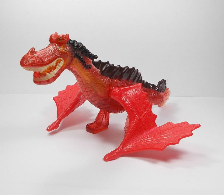 How To Train Your Dragon - Monstrous Nightmare Toy Figure - Cake Topper (1)
