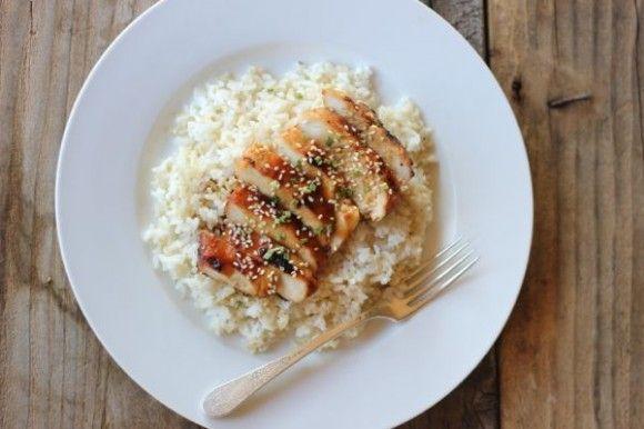 Homemade Teriyaki Chicken and Rice