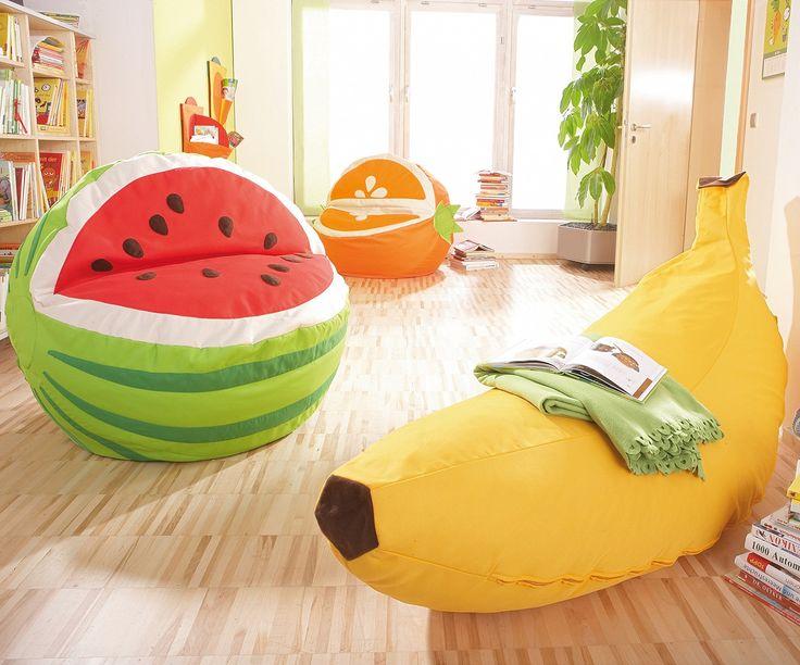 Sitzsack Früchte