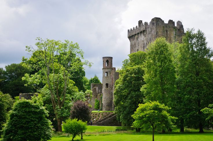 Kiss the Blarney Stone in Ireland~