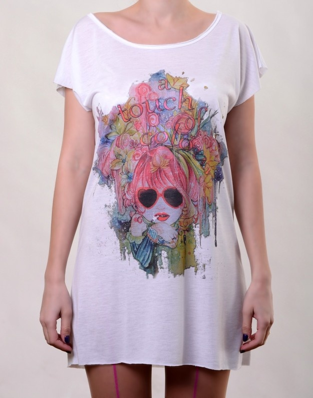 Touch of Colour T-Dress  http://www.hotncool.ro/femei/touch-of-colour-tdress.html